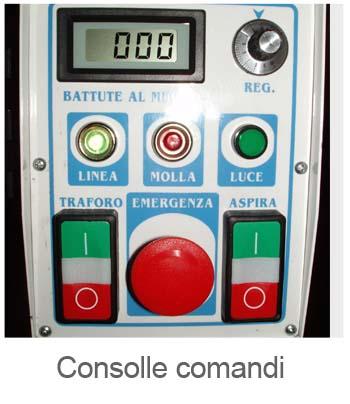console comandi